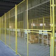 公路护栏网小区隔离栅图片