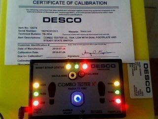苏州一级代理美国DESCO静电测试仪