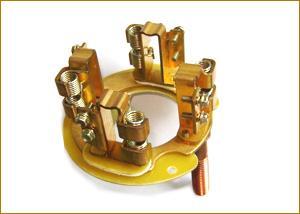 供应电机碳刷轮绝缘连接片来图制作