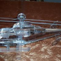 供应西安高档水晶飞机模型工艺品定制