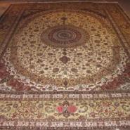 波斯手工真丝地毯图片