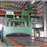 供应H钢表面抛光机 钢结构除锈机械 表面清理设备 青岛滚动喷砂机