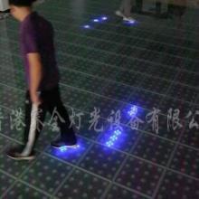 供应LED互动感应式跳舞砖、LED感应式地板砖、LED互动地板砖