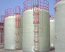 供应玻璃钢化工罐图片