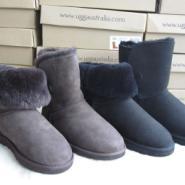 雪地靴日本流行MOU靴短/低筒女士图片