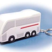 供应仿真PU巴士玩具汽车PU大卡车模型