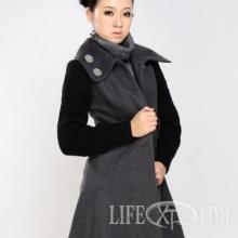 供应时尚女装批发    广州服装批发厂家直销女装呢子外套现货批发批发