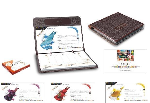 笔记本台历制作图片|笔记本台历制作样板图|笔记本图图片