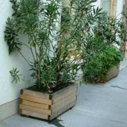 木制花盆架厂家批发-长沙图片