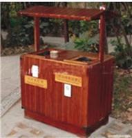 长沙防腐木垃圾桶首选图片