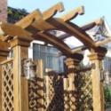 防腐木制品的施工方法图片