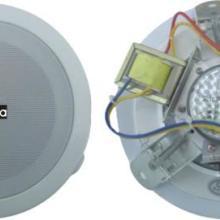 ABS-501金属吸顶天花喇叭,商场超市大厦喇叭消防广播会议音箱图片