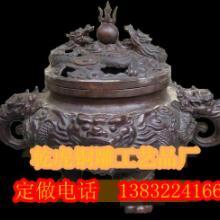供应铜雕工艺品宗教用品龙熏炉,龙熏炉生产厂家