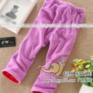 保暖针织童裤批发加厚休闲时尚卫衣图片