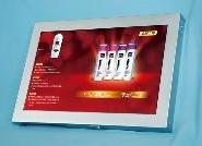 19寸触摸广告机插卡播放器广告图片