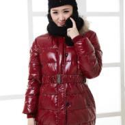 热销冬装爆款长款羽绒服棉衣女式冬图片