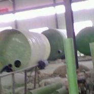 青海西宁玻璃钢整体缠绕生物化粪池图片