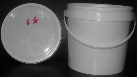 供应6L塑料提手平口桶