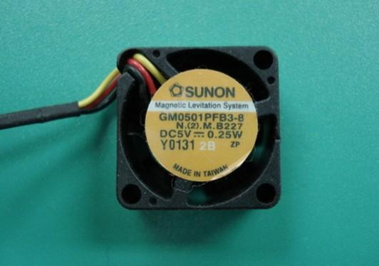 供应建准散热风扇2010 5V GM0501PFB3-8