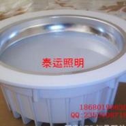 6寸压铸筒灯外壳配件大功率15W筒灯图片