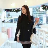 2011秋冬热卖款斗蓬毛呢外套图片