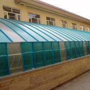 PC阳光板商业建筑的内外装饰图片