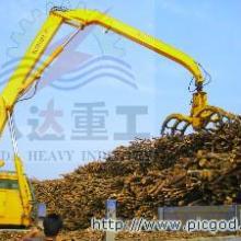 供应人造板行业抓枝桠材设备