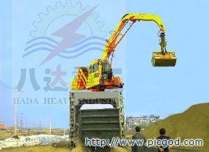 供应轨道式火车卸车机卸煤机