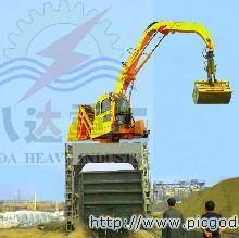 供应八达重工火车卸车机卸煤机