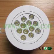 LED天花灯/热销12W乳白色外壳图片
