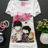 北京女人街市场t恤图案短袖t恤图片