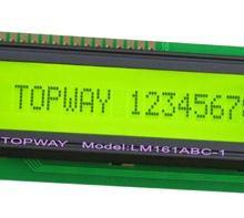 供應16x1字符LCD液晶顯示屏LMB161系列圖片