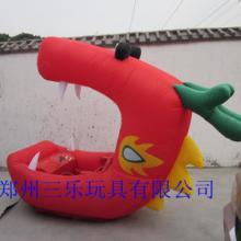 供应儿童气模车充气气模车喜羊羊红大嘴外套