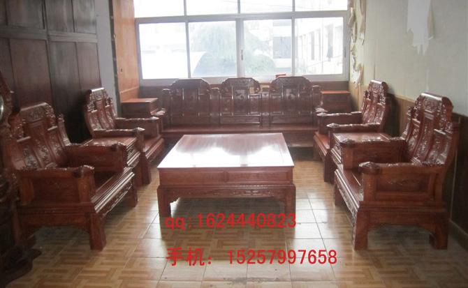 供应红木家具价格沙发图片