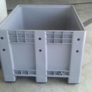 塑料卡板箱 大型托盘周转箱图片