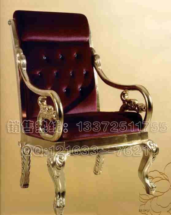 供应餐厅扶手椅子/欧式扶手软包椅图片