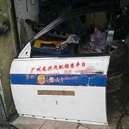 07年日产天籁左前门总成门壳拆车件图片