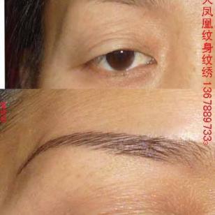 修补断眉短眉残眉使之变的完美技术图片