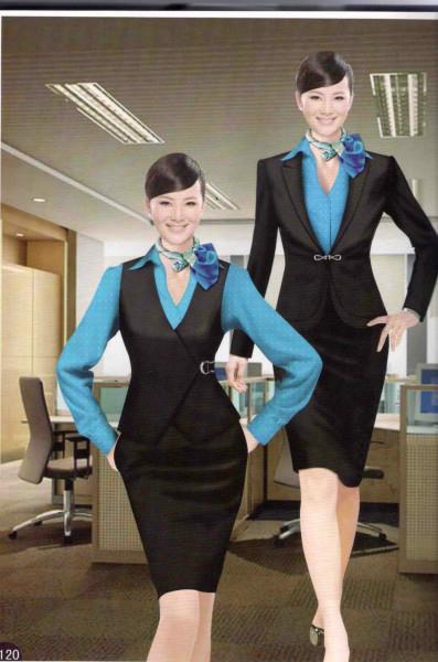 供应西安定做职业装价格职业装款式职业装面料