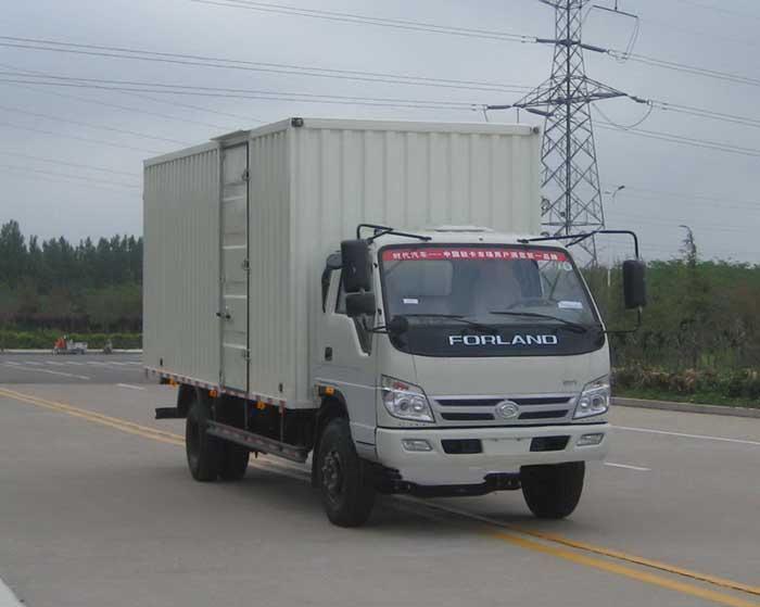 供应福田时代轻卡厢式运输车图片