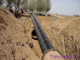 杭州市非开挖顶管,非开挖工程施工,甘肃顶管,PE管道销售,价格图片