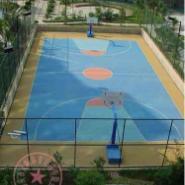 涪陵区丙烯酸羽毛球场图片