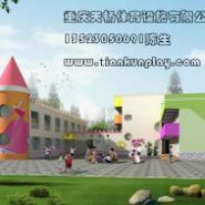 重庆幼儿园塑料床课桌椅生产商图片