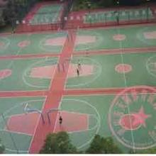 重庆篮球场材料报价&贵州塑胶运动网球场地面围网施工&重庆巫溪硅PU篮球场批发