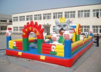 重庆儿童充气城堡图片