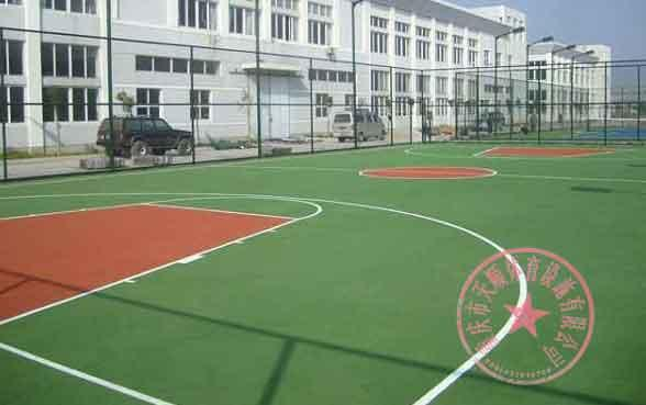 重庆篮球场馆建设/重庆羽毛球场规格/渝北区塑胶羽毛球场施工报价