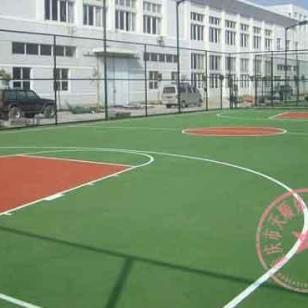 黔江区硅PU篮球场图片