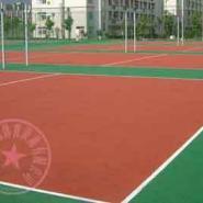 九龙坡区篮球场施工图片