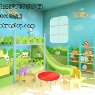 幼儿园室内滑滑梯图片