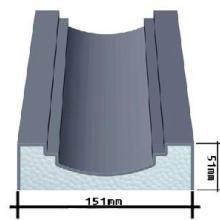 供应EPS外墙装饰线条,中山EPS外墙装饰线批发,中山EPS泡沫线条价格
